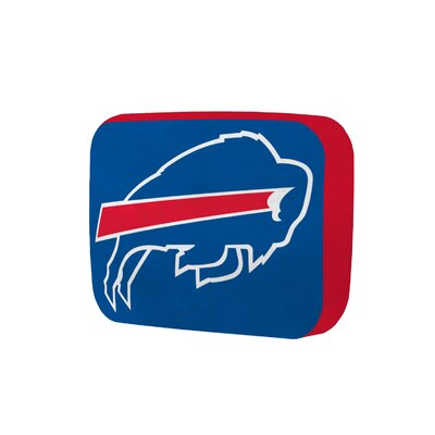 NFL Cloud Throw Pillow NFL Team: Buffalo Bills