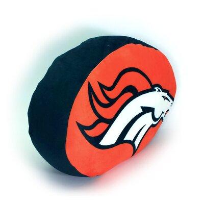 NFL Cloud Throw Pillow NFL Team: Dever Broncos