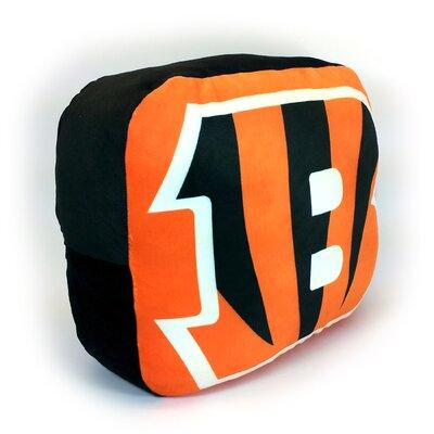 NFL Cloud Throw Pillow NFL Team: Cincinnati Bengals