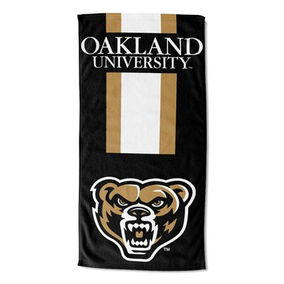 NCAA Zone Read Beach Towel NCAA Team: Oakland University