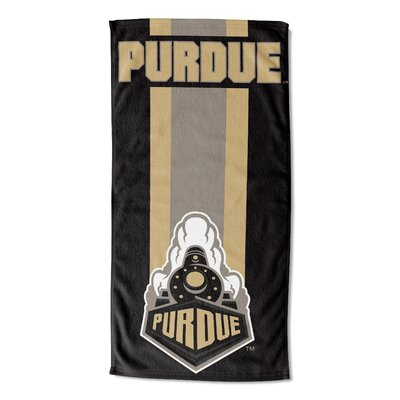 NCAA Zone Read Beach Towel NCAA Team: Purdue University