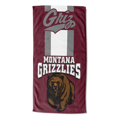 NCAA Zone Read Beach Towel NCAA Team: University of Montana