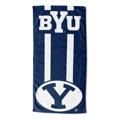 NCAA Zone Read Beach Towel NCAA Team: Brigham Young University