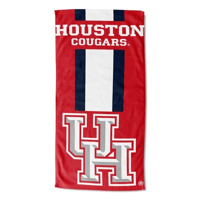 NCAA Zone Read Beach Towel NCAA Team: University of Houston