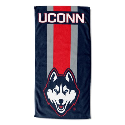 NCAA Zone Read Beach Towel NCAA Team: University of Connecticut