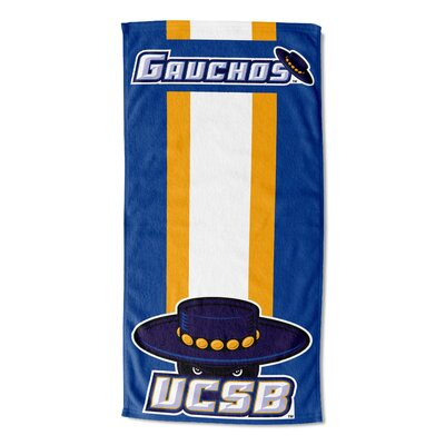 NCAA Zone Read Beach Towel NCAA Team: University of California Santa Barbara