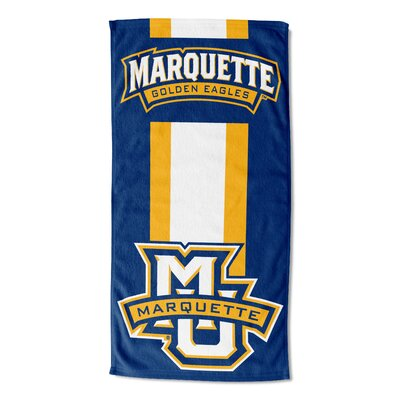 NCAA Zone Read Beach Towel NCAA Team: Marquette University