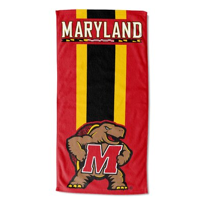 NCAA Zone Read Beach Towel NCAA Team: University of Maryland College Park