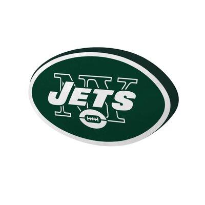 NFL Cloud Throw Pillow NFL Team: New York Jets