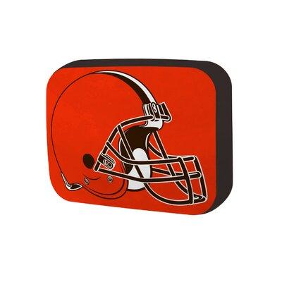 NFL Cloud Throw Pillow NFL Team: Cleveland Browns