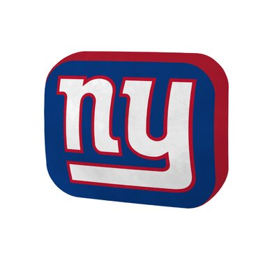 NFL Cloud Throw Pillow NFL Team: New York Giants