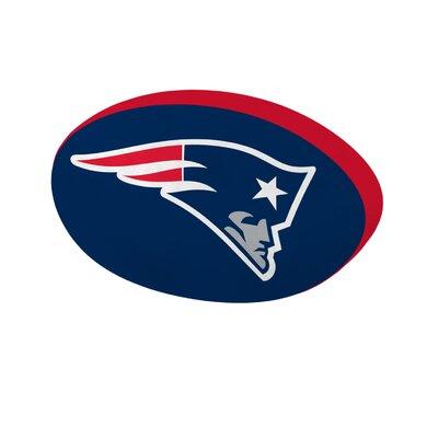 NFL Cloud Throw Pillow NFL Team: New England Patriots