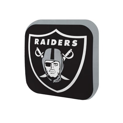 NFL Cloud Throw Pillow NFL Team: Oakland Raiders