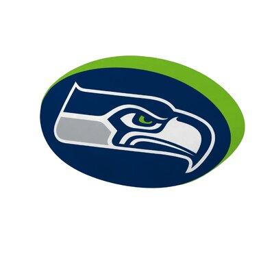 NFL Cloud Throw Pillow NFL Team: Seattle Seahawks