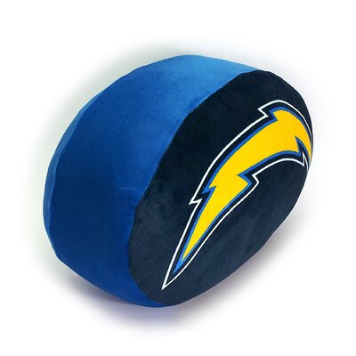 NFL Cloud Throw Pillow NFL Team: San Diego Chargers
