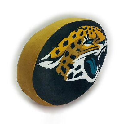 NFL Cloud Throw Pillow NFL Team: Jacksonville Jaguars