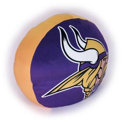NFL Cloud Throw Pillow NFL Team: Minnesota Vikings