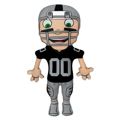 NFL Cloud Pal Character Throw Pillow NFL Team: Oakland Raiders