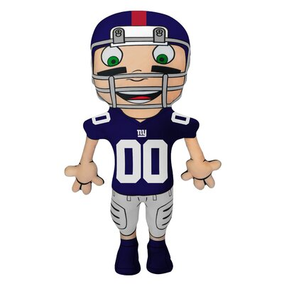 NFL Cloud Pal Character Throw Pillow NFL Team: New York Giants
