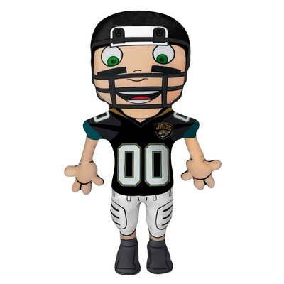 NFL Cloud Pal Character Throw Pillow NFL Team: Jacksonville Jaguars