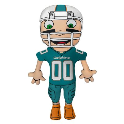 NFL Cloud Pal Character Throw Pillow NFL Team: Miami Dolphins