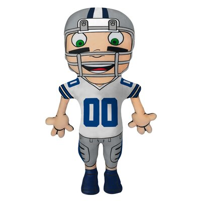 NFL Cloud Pal Character Throw Pillow NFL Team: Dallas Cowboys