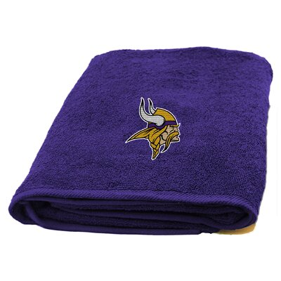 NFL Applique Bath Towel NFL Team: Minnesota Vikings