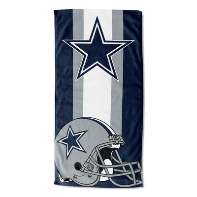 NFL Zone Read Beach Towel NFL Team: Dallas Cowboys