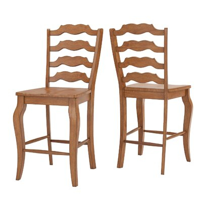 Sinoway French 24.21 Bar Stool Color: Oak