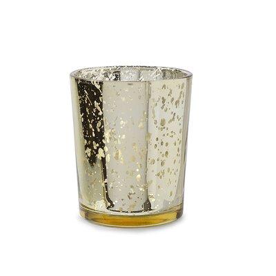 Spot Plating Glass Votive Holder (Set of 12)