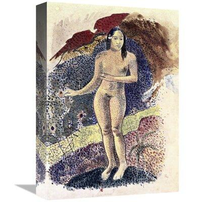 'Nude Tahitian Woman (Femme Nue Tahitienne)' Print on Canvas BE38B29B23644091A9C4E65A567A880E