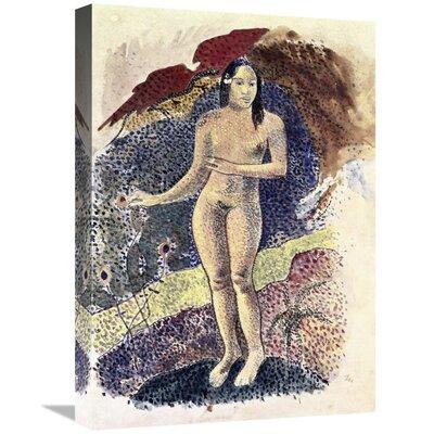 'Nude Tahitian Woman (Femme Nue Tahitienne)' Print on Canvas BFBF9F31A82944DF8075383F0E17D98E