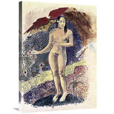 'Nude Tahitian Woman (Femme Nue Tahitienne)' Print on Canvas CCB8E53DA3964D7CA54CA47B17F75E9B