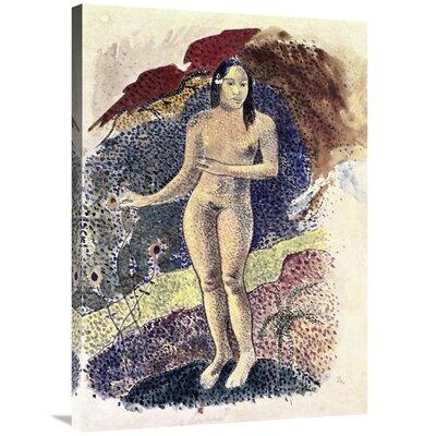 'Nude Tahitian Woman (Femme Nue Tahitienne)' Print on Canvas 712CF8901D094C03AE8EC8C98D3DEE1F
