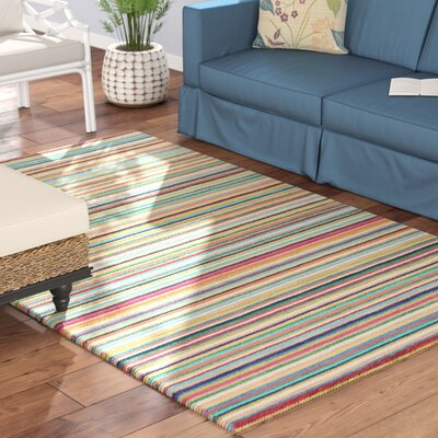 Kandice Hand-Tufted Multicolored Area Rug Rug Size: Rectangle 2 x 3