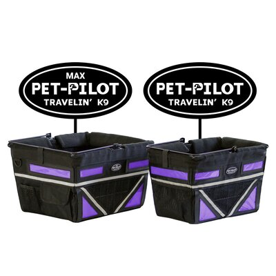 Original Bike Pet Carrier Color: Purple
