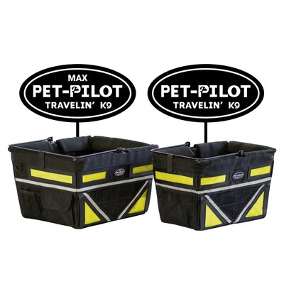 Original Bike Pet Carrier Color: Yellow