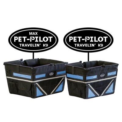 Original Bike Pet Carrier Color: Blue
