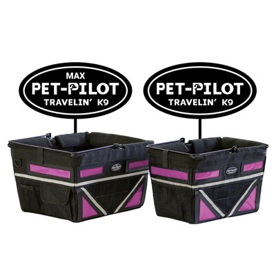 Original Bike Pet Carrier Color: Pink