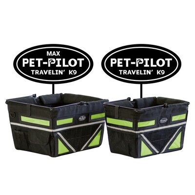 Original Bike Pet Carrier Color: Green