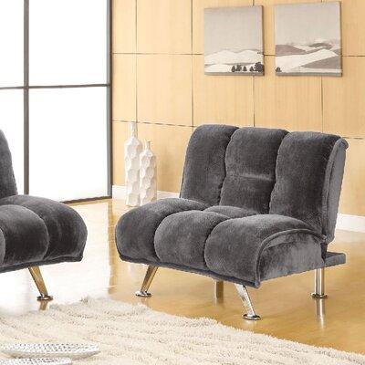 Littlefield Futon Chair Upholstery: Gray