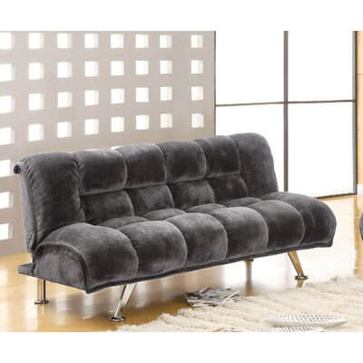 Littlefield Convertible Sofa Upholstery: Gray