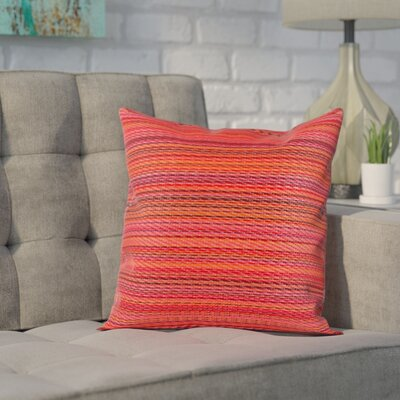 Sedlak Outdoor Throw Pillow Size: 16.5 x 16.5, Color: Sunset