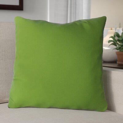 Escamilla Acrylic Throw Pillow Color: Lime Green, Size: 15 H x 15 W