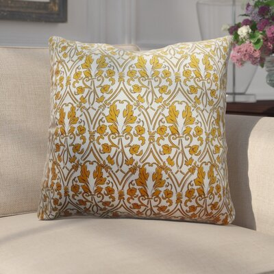 Adriell Non Bordered Throw Pillow Color: Gold