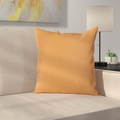 Ryele Outdoor Throw Pillow Color: Orange