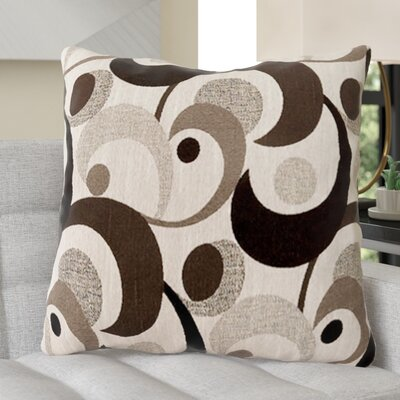 Castonguay Throw Pillow Color: Gray, Size: 19 x 19