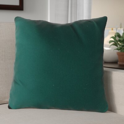 Escamilla Acrylic Throw Pillow Color: Forest Green, Size: 15 H x 15 W