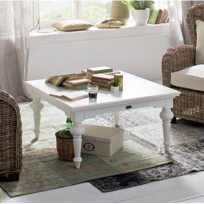 Winthrope Coffee Table Table Top Color: White