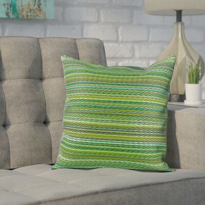 Sedlak Outdoor Throw Pillow Size: 16.5 x 16.5, Color: Green